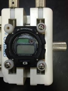 Gショック バッテリー交換