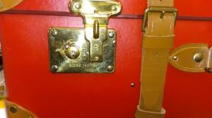 グローブトロッター鍵交換前接写